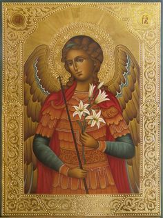 Religious Images, Religious Icons, Religious Art, Archangel Gabriel, Archangel Michael, Our Lady Of Rosary, Italian Paintings, Christian Artwork, Russian Icons