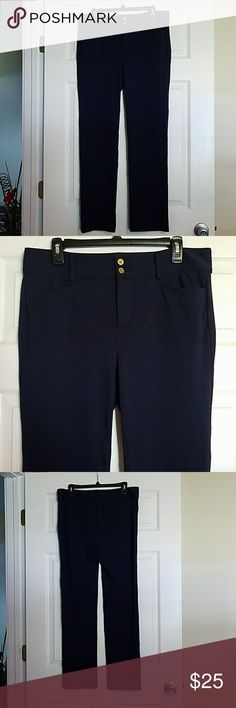 New Ralph Lauren Pants sz.12 New Ralph Lauren Pants sz.12  Navy color Stretchy, thicker material Very nice Ralph Lauren Pants