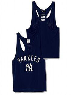 New York Yankees Mesh Racerback Tank