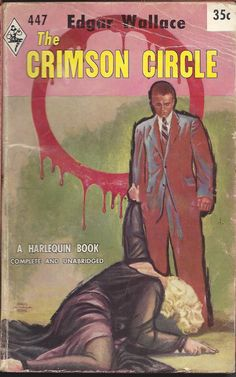 The Crimson Circle, Edgar Wallace, Harlequin 447
