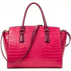 Dasein® Winged Croc Satchel withRemovable Shoulder Strap Only Sold {product_price} - fashlets.com