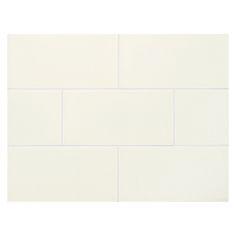 """Complete Tile Collection Vermeere Ceramic Tile - Ice Cream - Crackle, 3"""" x 6"""" Manhattan Ceramic Subway Tile, MI#: 199-C1-311-401, Color: Ice Cream"""