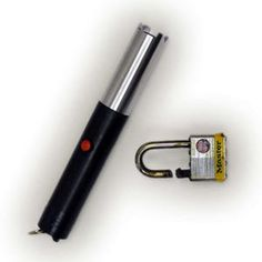 The Ultrahot Torch That Slices Through Steel - An offshoot of a military project, the Metal Vapor Torch could allow law enforcement officers to cut chains and padlocks fast. http://survivalism-life.com/