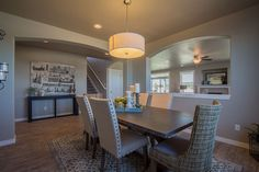 The Waterbrook by Hayden Homes - Dining Room - the Waterbrook offers 4 bedrooms and 2.5 bathrooms with 3,195 sq. feet.
