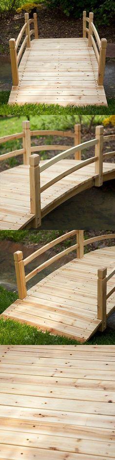 Bridges 115773: 6 Foot Garden Bridge Outdoor Furniture Decor Structure Home Porch Backyard Patio -> BUY IT NOW ONLY: $200 on eBay!