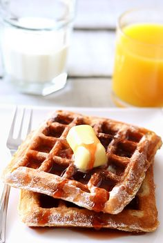 Protein Waffles - easy way to increase protein intake which will support your fitness goals and help you lose weight