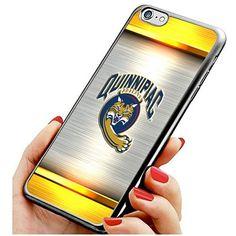 New iPhone 6/6s TPU Case NCAA Quinnipiac Bobcats Logo Cel…