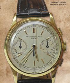 Vacheron Constantin wristwatch from 1946