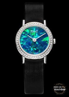Altiplano 24mm Stone Dial - White Gold - Diamonds - Opal Dial - Piaget