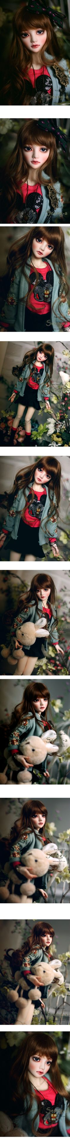 Seung-A 43cm, Soul Doll - BJD Dolls, Accessories - Alice's Collections