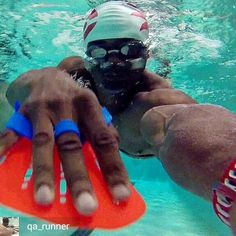 from Ajani Snelling @qa_runner . . . . Super proud to announce that I HAVE GONE PRO!!!  Gopro that is.... hehe #canaw #newwaveswimbuoy #airofin #airofin_athletic #airofin_athletic_ambassador #gopro #garmin #garminforerunner #lifestyle #vegas #lvac #lvacflamingo #tri365 #triathlete #triathlontraining #triathlon #nevergiveup #swimming #swimmer #swimwear #poolside #workout #fitness #bodybuilding #newnewwaveswimbuoy