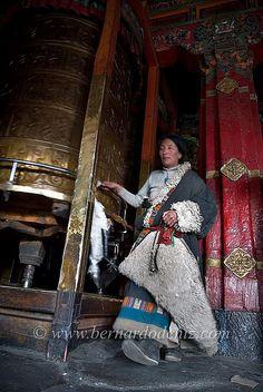 Tibetan Pilgrim Prayer