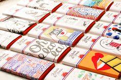 El delicioso packaging de Le Chocolat des Français | Singular Graphic Design