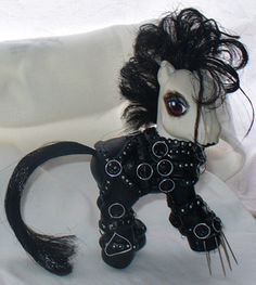 Edward Scissorhands my little pony