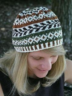 Fair Isle Hat - DK yarn