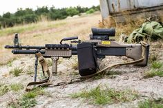 Mk 43 apparently in Danish Army evaluation. They seected the Mk 43 as the M60E6.