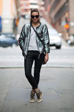 isabel marant srteet style | Sneakers-Street-Style-1 | stylesnooperdan