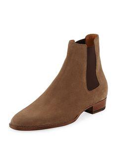 f5ee00c60b1 Men's Designer Boots. Mens Designer BootsSuede Chelsea BootsMen's BootsShoes  MenSaint LaurentMan ...