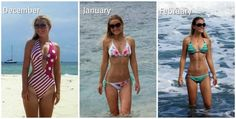 body transformation following the www.bodyrock.tv program