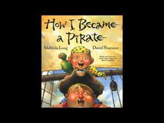 """A reading of """"How I became a pirate"""" by Mark"""