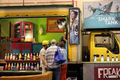 Freaker, a maker of fabric bottle insulators, used a box truck as its booth. Staff drove the truck from the company's North Carolina headqua... Photo: Kayla Hernandez for BizBash