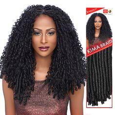 """Harlem125 Synthetic Hair Braids Kima Braid Soft Dreadlock 14"""""""