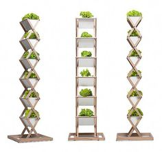 Urban Garden Urbanature's folding garden planter and stand takes urban gardening to new heights. I'm always on the hunt for small space garden products that an urban gardener can easily store out of place when . Hydroponic Gardening, Organic Gardening, Container Gardening, Urban Gardening, Indoor Hydroponics, Aquaponics Greenhouse, Garden Planters, Indoor Garden, Indoor Plants