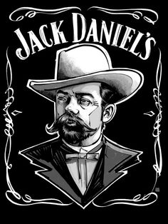 "Jack Daniels Tennessee Whisky, who founded it, how it evolved and the story of Jasper ""Jack"" Daniels. Jack Daniels Logo, Jack Daniels Whiskey, Bebidas Jack Daniels, Jack Daniel's Tennessee Whiskey, Whisky Jack, Pin Up, Cool Stuff, Funny, Stencil"