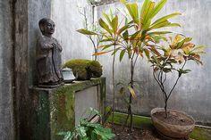 A patio in Geoffrey Bawa's house, Colombo