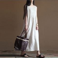 Plus Size Dresses, Plus Size Outfits, Moda Casual, Vest Outfits, Vintage Style Dresses, Tank Dress, Kaftan, Dresses Online, Summer Outfits