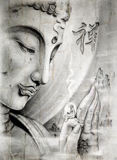 """25 """" (...) o  iogue indiano Padmasambhava, organizou o budismo tibetano e fundou a escola hoje conhecida como Nyingma (ou """"escola da tradição antiga"""", em relação às posteriores escolas estabelecidas por outros professores).""""  (Fonte: Wikipédia) - Da pasta: Tradições, Mitologias, Ícones, Holismo..   Buddha"""