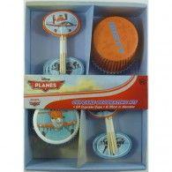 Disney Planes Dusty Cupcake Decorating Kit Inc Picks - 24 Cupcake Cups Disney Planes Cake, Disney Planes Birthday, Wholesale Party Supplies, Kids Party Supplies, Cupcake In A Cup, Cupcake Party, Ludo, Wholesale Balloons, Disney Balloons
