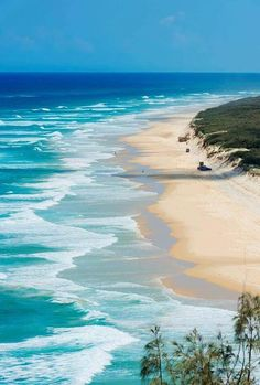 The 10 most beautiful beaches in the world Les plus belles plages du monde – Fraser Island Australie - Door Most Beautiful Beaches, Beautiful World, Beautiful Places, Beautiful Beautiful, Fraser Island, Tropical Beaches, Beaches In The World, Jolie Photo, Sea And Ocean