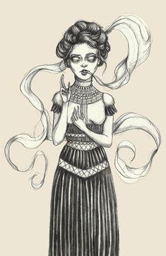 Caitlin McCarthy #bleaq #illustration
