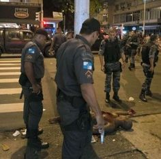 The shocking amount of killings of young Black people in Brazil revealed in a…
