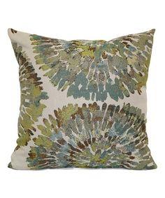 Look what I found on #zulily! Mum's The Word Throw Pillow #zulilyfinds
