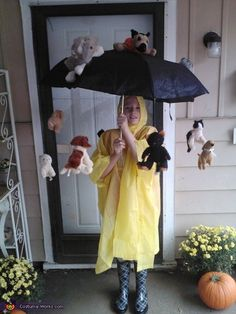 It's Raining Cat and Dogs - Halloween Costume Idea