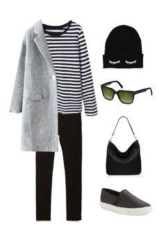 Dieser Winter wird warm und gemütlich mit einem einfarbigen und schlichten Outfit. Vervollständige den Look mit Schlüpfsneakers, einer witzigen Beanie und einer klassischen Sonnenbrille von rocco by Rodenstock.