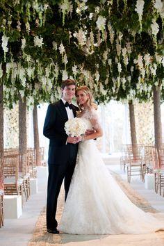 Ivanka Trump's Custom Wedding Dress Was Accessorized With $220,000 Worth of Diamonds