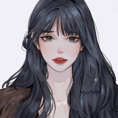 Pretty Girl Drawing, Pretty Anime Girl, Cool Anime Girl, Beautiful Anime Girl, Kawaii Anime Girl, Anime Art Girl, Digital Art Anime, Digital Art Girl, Manga Girl