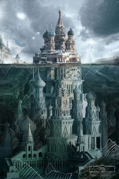 Similar to how I imagine Paragon Castle. <3