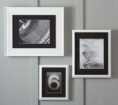 Gallery In A Box Black Mats - Eliza Frames