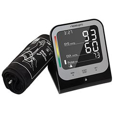 MeasuPro Digital Upper Arm Blood Pressure Monitor with Cuff that Fits Standard and Large Arms Advanced BP Machine with Heart Rate Detection and Blood Pressure Tracker CE FDA Approved >>> Check out the image by visiting the link.