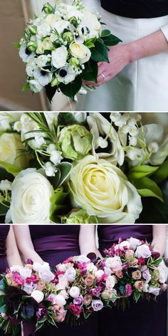 A great example of what can be done with flowers for a November wedding. Roses, lisianthus and more