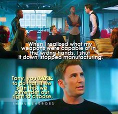 And after this line, Cap officially became my favorite superhero. Civil War Captain America