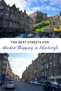Shopping in Edinburgh: The 7 Streets You Can't Miss   http://tallgirlbigworld.com/best-shopping-in-edinburgh-where-to-find/