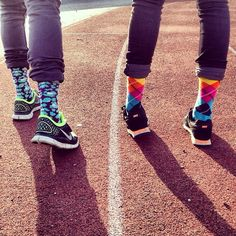 Happy Socks #colourful #sneakers