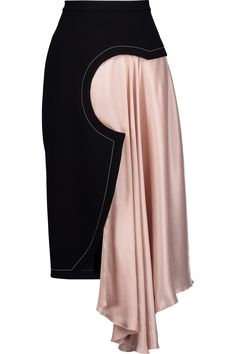 Shop on-sale Roksanda Niamh draped satin-paneled crepe midi skirt. Browse other discount designer Skirts & more on The Most Fashionable Fashion Outlet, THE OUTNET.COM