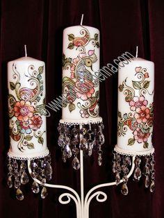 henna candles