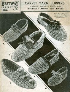 Ladies Full Slippers SLEEPERS EDWINA Knitted